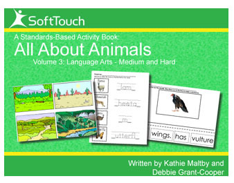 All About Animals Vol 3: Language Arts & Motor Skills Level 2