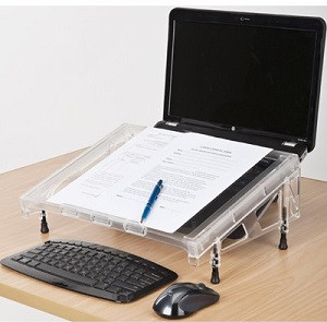 Compact Microdesk Document Holder