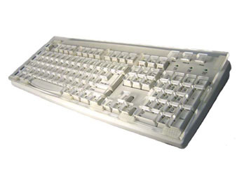 Keyboard with Keyguard, USB