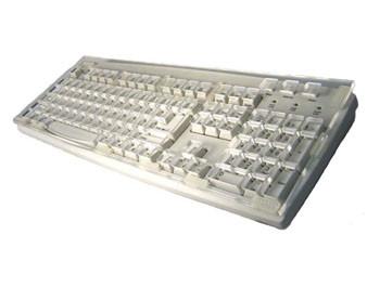 Keyboard with Keyguard BLACK, USB