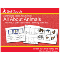 All About Animals Vol 2: Math & Science Level 1