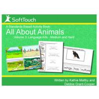 All About Animals Vol 3: Language Arts & Motor Skills Level 2