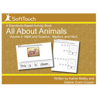 All About Animals Vol 4: Math & Science Level 2