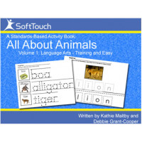 All About Animals Vol 1: Language Arts & Motor Skills Level 1
