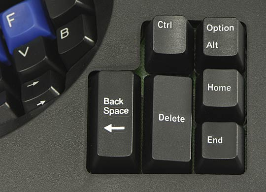 Separate thumb keypads